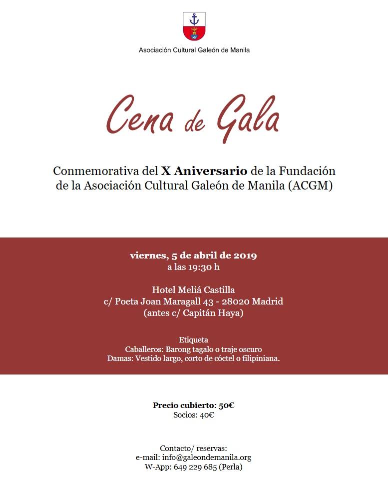 cartel cena gala web
