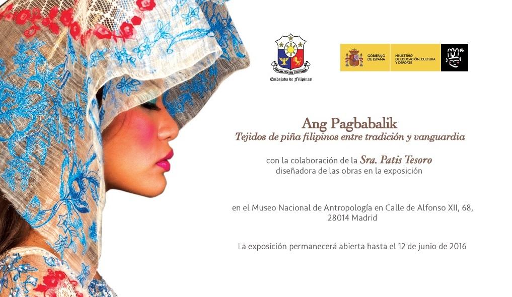 Exposicion tejidos filipinos